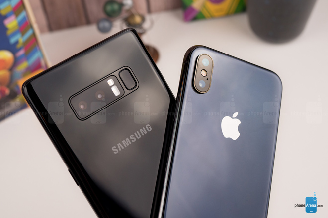 "so sanh iphone x voi galaxy note 8: ""cuoc cham tran nay lua"" hinh anh 12"