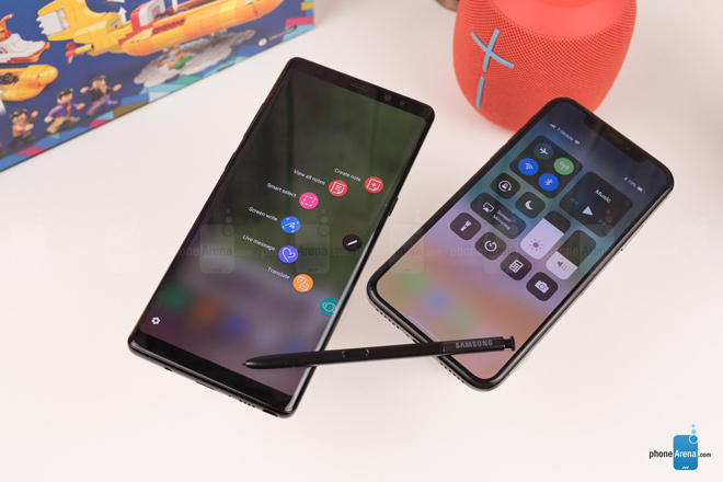 "so sanh iphone x voi galaxy note 8: ""cuoc cham tran nay lua"" hinh anh 5"