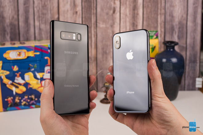 "so sanh iphone x voi galaxy note 8: ""cuoc cham tran nay lua"" hinh anh 14"