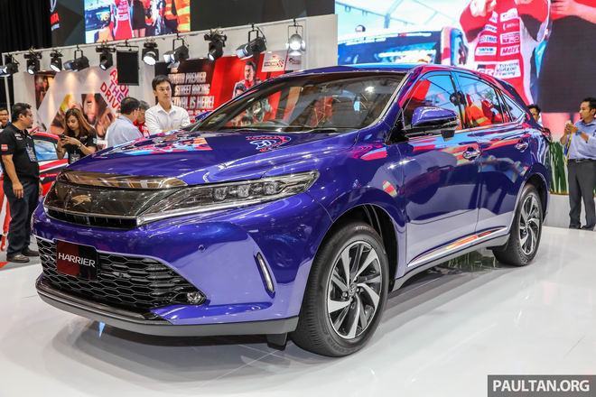 toyota harrier 2018 co gia tu 1,28 ty dong hinh anh 1