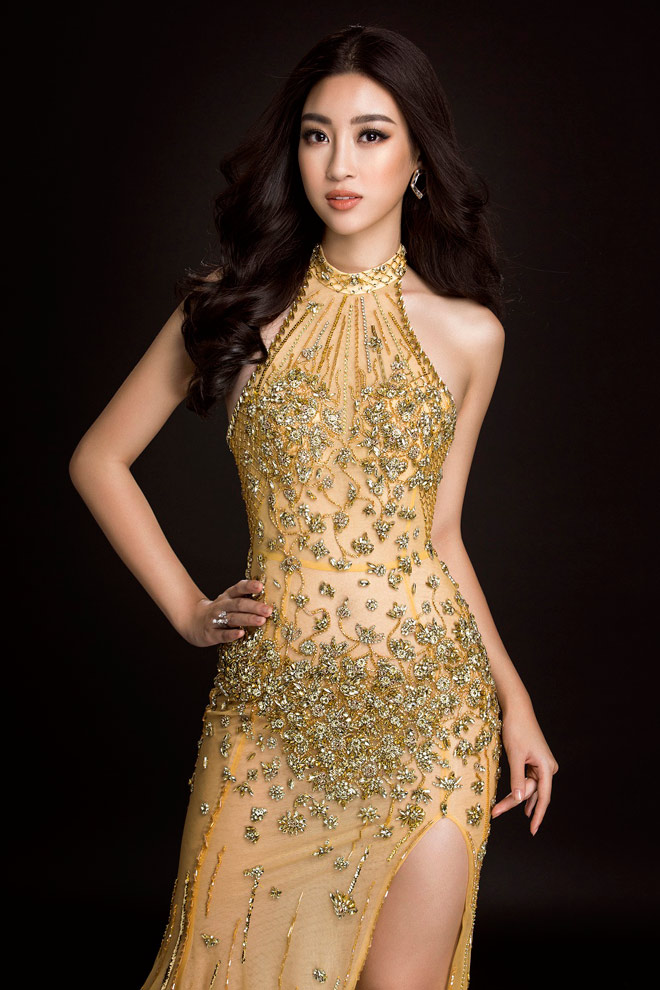 hh ky duyen xuc dong nhan gui hh do my linh truoc gio g miss world hinh anh 4
