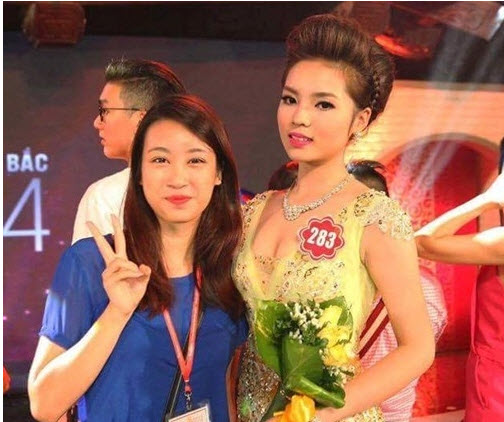 hh ky duyen xuc dong nhan gui hh do my linh truoc gio g miss world hinh anh 3