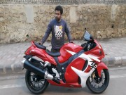 Xe re 27 trieu dong do than gio Suzuki Hayabusa cuc chat
