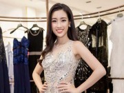 HH do My Linh dep kieu ky ben MC Phan Anh sau tro ve tu Miss World