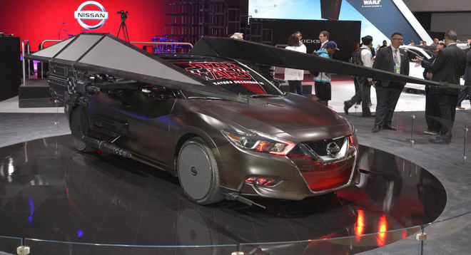 nissan mang ca the gioi star wars den la auto show hinh anh 4