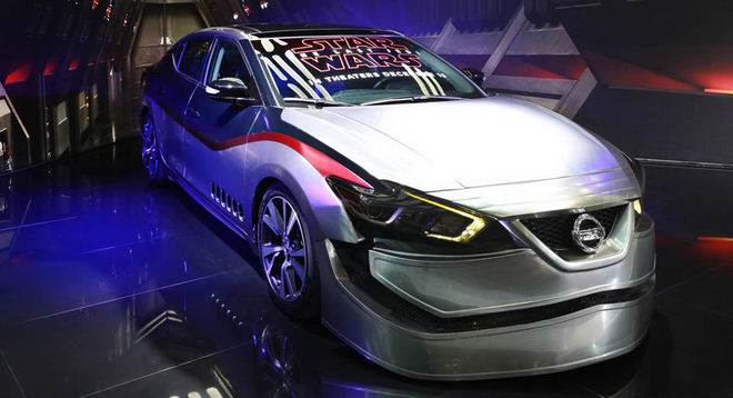 nissan mang ca the gioi star wars den la auto show hinh anh 5