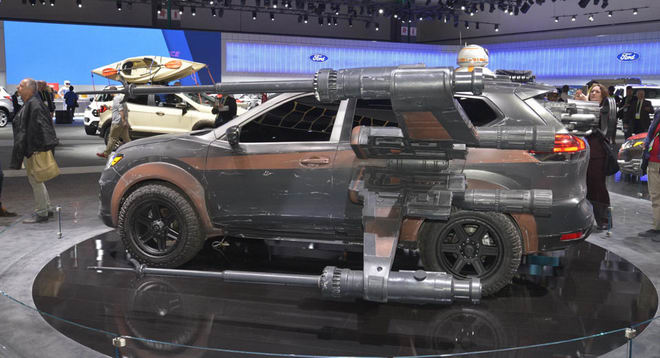 nissan mang ca the gioi star wars den la auto show hinh anh 6