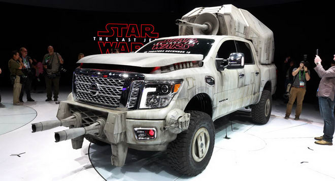 nissan mang ca the gioi star wars den la auto show hinh anh 8