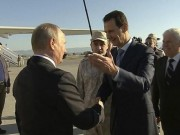 Putin bat ngo den Syria an mung chien thang IS