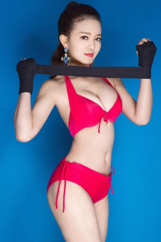 mc the thao hot nhat trung quoc nong bong nho... uong nuoc loc hinh anh 3