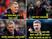 "The thao - aNH CHe HoM NAY (14.12): David Moyes ""len dong"", Arsenal phat diem"