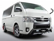 Toyota Hiace cung co ban do TRD