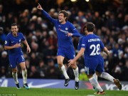 "The thao - Marcos Alonso lap cong, Chelsea ""pha hoi nong"" vao M.U"