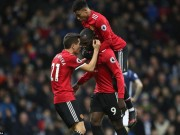 anh - Video - Lukaku lap cong, M.U thang hu via West Brom