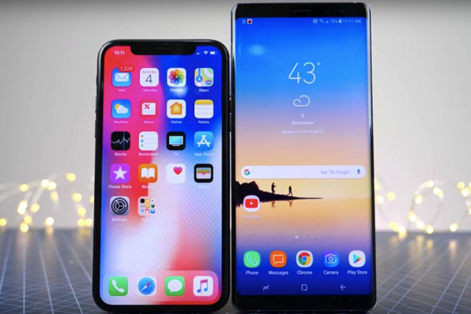 iphone x 2018 se co loi the vuot troi so voi dien thoai android hinh anh 1