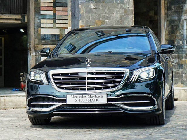 mercedes-maybach s450 2018 gia 7,219 ty dong hinh anh 1