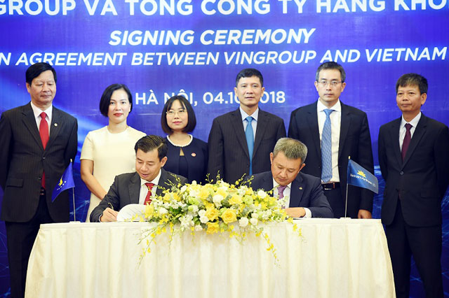 vietnam airlines – vingroup ky thoa thuan hop tac hinh anh 1
