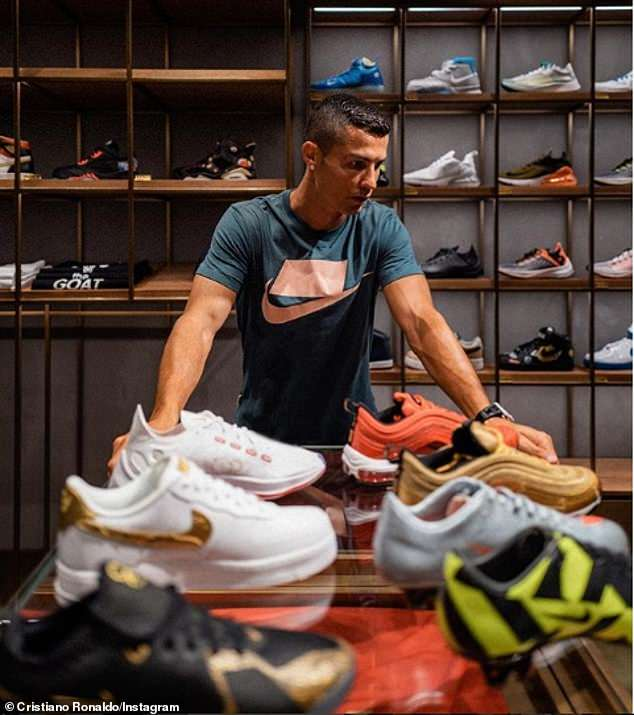 cr7 co the mat hop dong 1 ty do voi hang giay nike hinh anh 1
