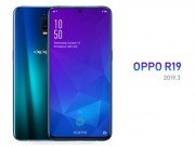 Lo anh Oppo R19 voi camera selfie doc dao an trong man hinh