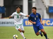 The thao - U19 Thai Lan tao bat ngo lon truoc U19 Iraq