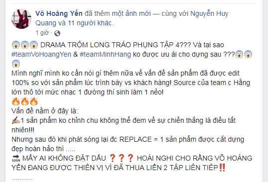 """vo hoang yen """"to"""" the face vietnam 2018 """"trom long trao phung"""" hinh anh 4"""