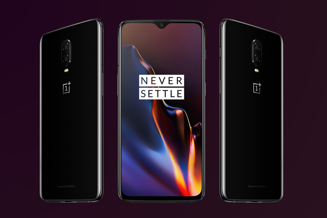 "chinh thuc: oneplus 6t trinh lang, ap dao ""con bao"" iphone xr hinh anh 1"