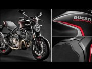 """Quy do"" Ducati Monster 821 Stealth Edition hoa than thanh ""hac chien ma"""
