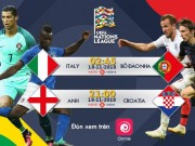 Lich thi dau luot tran cuoi UEFA Nations League: Nhieu bat ngo