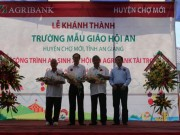 Khanh thanh Truong mau giao Hoi An do Agribank tai tro 3,4 ty dong