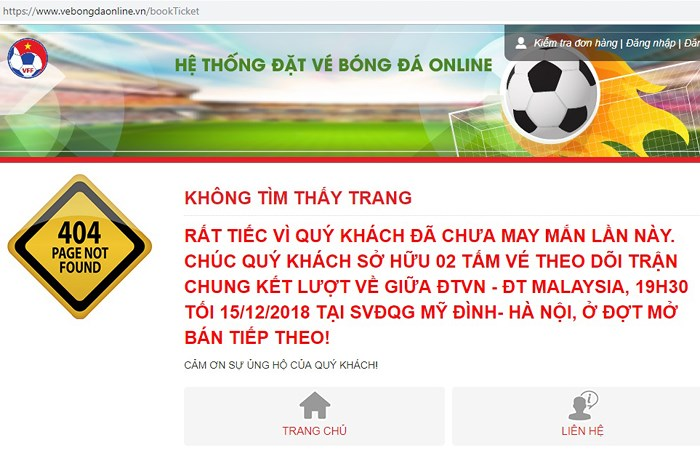 chung ket aff cup: fan tiet lo bi quyet mua ve online thanh cong hinh anh 1