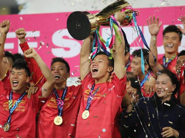 The thao - Vo dich AFF Cup 2018, dT Viet Nam lap ky luc the gioi