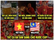 Dan mang che anh truoc tran chung ket luot ve AFF Cup 2018