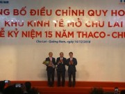 15 nam, Thaco Truong Hai dong gop cho Quang Nam 70.000 ty dong