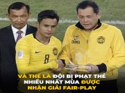 day la ly do Malaysia duoc trao giai Fair-play tai AFF Cup 2018