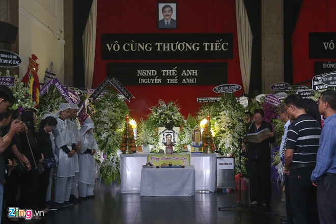 nsnd tra giang, thanh loc dau xot tien nghe si the anh ve noi an nghi hinh anh 1
