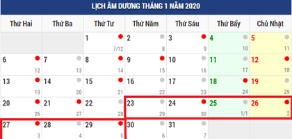 thu tuong phe duyet 7 ngay nghi tet nguyen dan canh ty 2020 hinh anh 1
