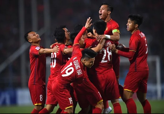dt viet nam dung nhat bang g vong loai world cup 2022 ve... suc tre hinh anh 1