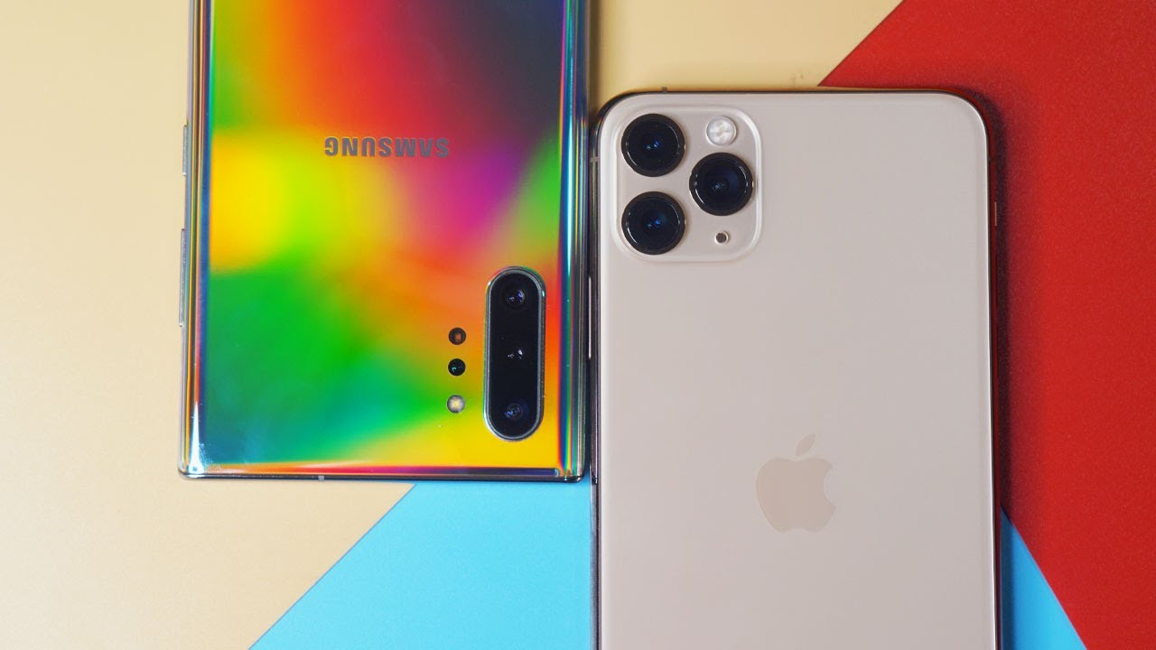 """do pin"" iphone 11 pro max va galaxy note 10+: ai ben bi hon? hinh anh 3"