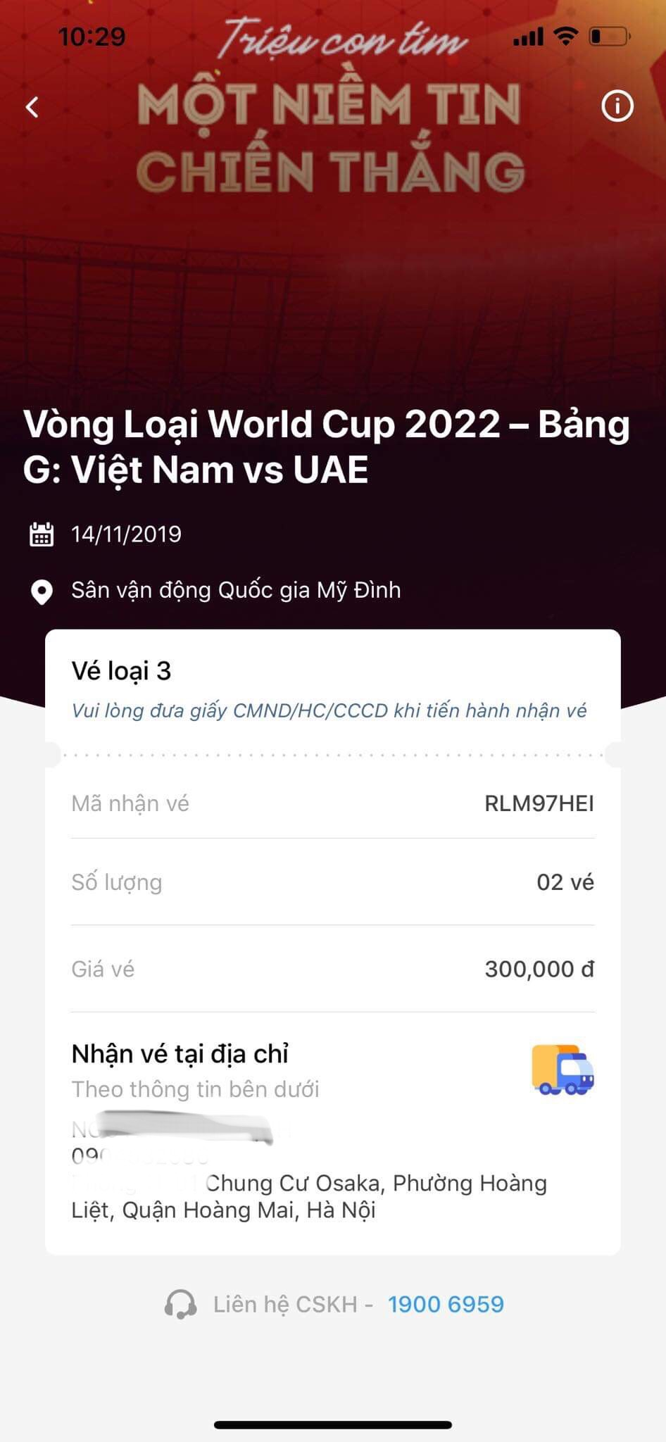 dt viet nam gay sot o vong loai world cup, ve tran dau voi uae het trong 2 phut hinh anh 1