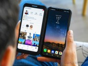 "LG V50 ThinQ, Dual Screen 2 man hinh, ""dinh"" gap boi Galaxy Fold"