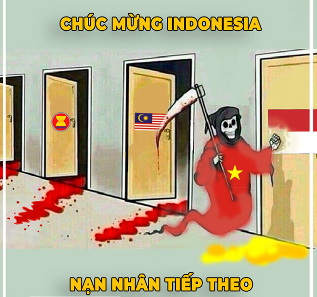 "anh che: indonesia ""run ray"" khi viet nam den nha go cua hinh anh 1"