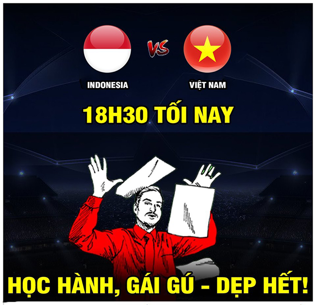 "anh che: indonesia ""run ray"" khi viet nam den nha go cua hinh anh 2"