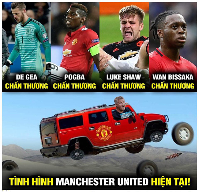 "anh che: mu ""lam nguy"" truoc dai chien liverpool, solskjaer bat luc hinh anh 1"