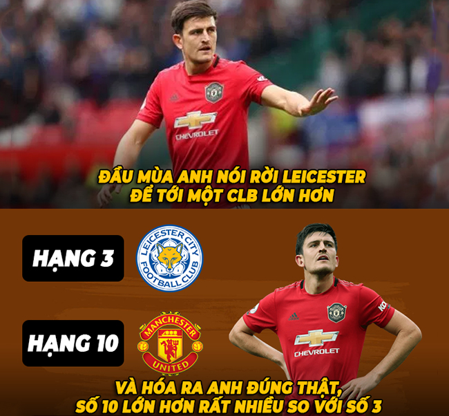 "anh che: bom tan harry maguire ""hoi han"" khi chuyen den man united hinh anh 1"