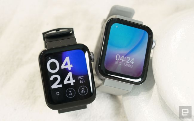 "can canh chiec smartwatch sao chep apple watch ""khong biet di"" hinh anh 1"