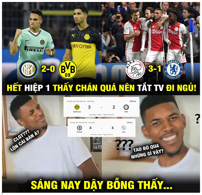"anh che c1: chelsea cam hoa ajax day kich tinh, messi ""bat luc"" hinh anh 3"