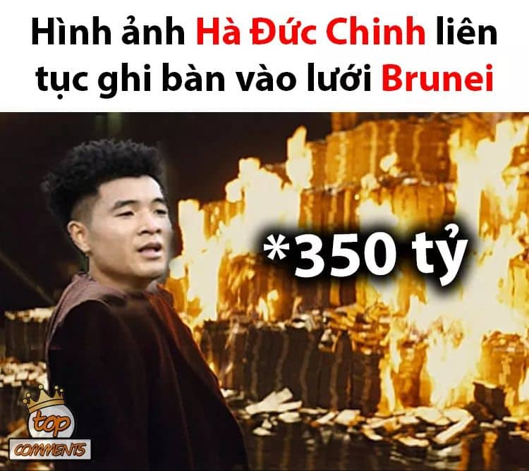 """anh che """"cuoi vo bung"""" ve u22 viet nam thang u22 brunei 6-0 hinh anh 2"""