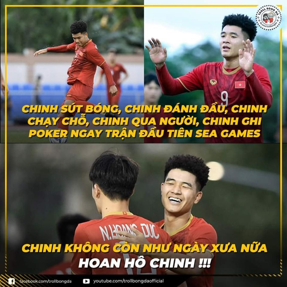 """anh che """"cuoi vo bung"""" ve u22 viet nam thang u22 brunei 6-0 hinh anh 5"""