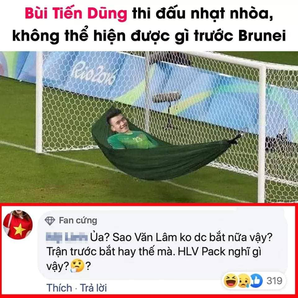 """anh che """"cuoi vo bung"""" ve u22 viet nam thang u22 brunei 6-0 hinh anh 7"""