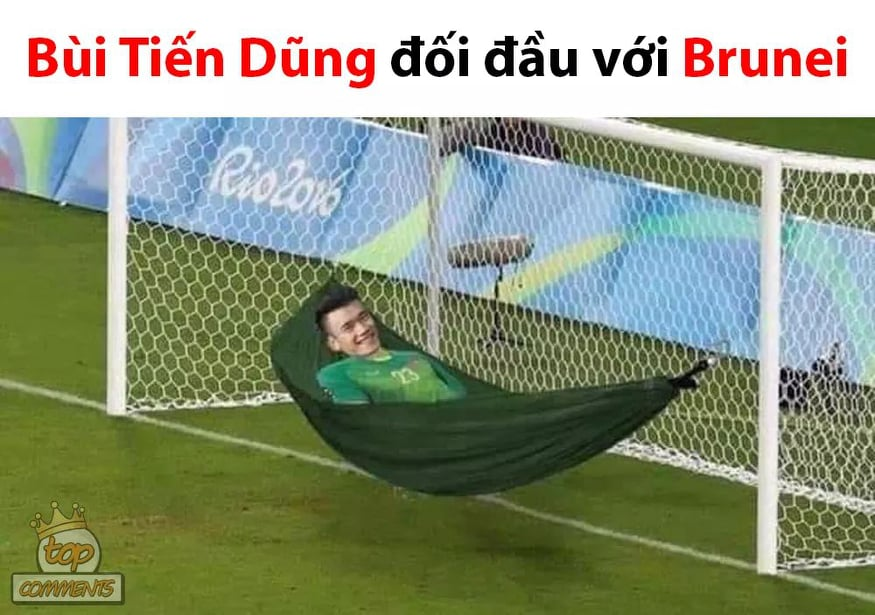 """anh che """"cuoi vo bung"""" ve u22 viet nam thang u22 brunei 6-0 hinh anh 8"""